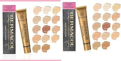 New Dermacol Film Studio Legendary High Covering Make Up Foundation Uk