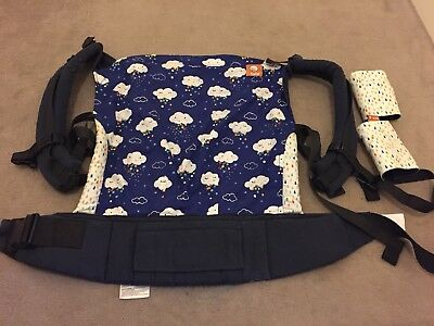 Tula Toddler Baby Carrier - EU Exclusive Rainbow Nimbus With Matching Suck Pads