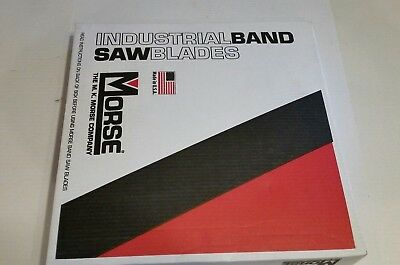 Morse 10ft 1  .035 8/12 VP Band Saw Blade (2 Blades in Box)