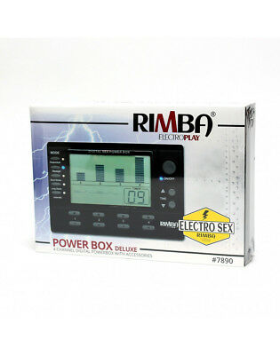 Rimba - 4 KANAL - Elektro Power box Set mit LCD Display Stimulation Massage