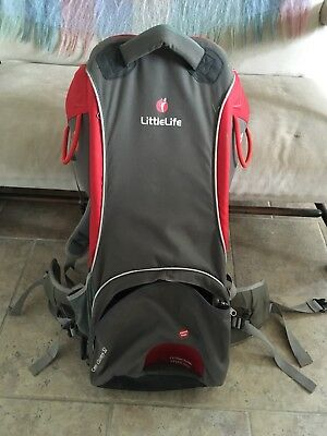 Little Life Baby Carrier S2 Cross Country With Sun/rain Canopy
