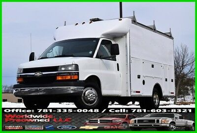 2004 Chevrolet Express Chevrolet Chevy 3500 Enclosed Utility Van 6.0L Vortec Gas GMC 2004 Chevrolet Express Cutaway Enclosed Utility Van 6.0L Vortec Gas Chevy GMC