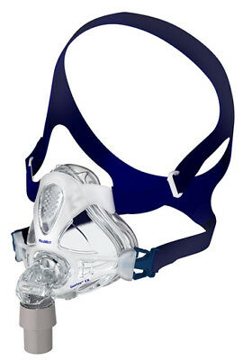 Mirage Quattro™ FX Full Face CPAP Mask with Headgear (Size M)