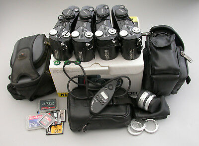 4 used Nikon Camera Coolpix 4500 Plus Cases Equipment and accessories