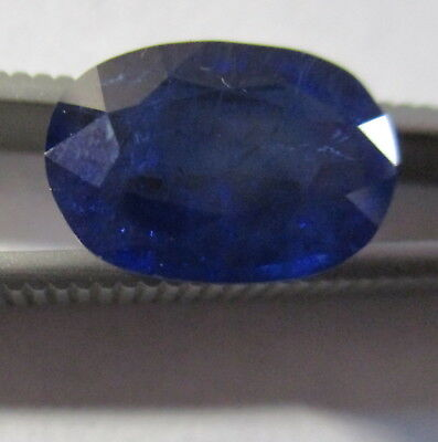 SAPPHIRE CORUNDUM CHATHAM LABORATORY GROWN 8.40Ct  MF9310