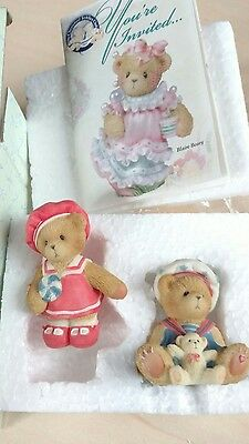 Paws For Patriotism American Bears  Exclusive Cherished Teddies BNIB