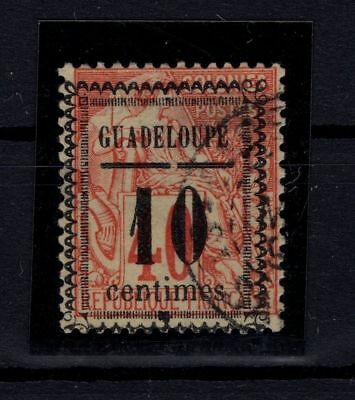 P58362/ Guadeloupe / Maury # 7-Iv Obl / Used / Certificate / 175 €