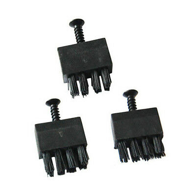 3PCS Black Arrow Rest Brush Replacement With Screw for Compound Bow Archery bo3