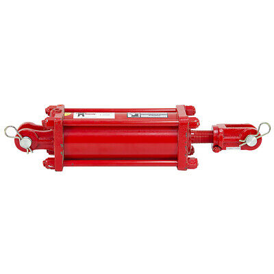 4x8x1.25 Double Acting Hydraulic Cylinder Grizzly 046896   9-12283-408