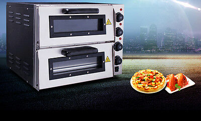New Commercial Grey+Black Multi-function Baking Tool Benchtop Electric Oven #