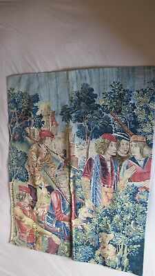 Vintage Wall Tapestry - Period Scene