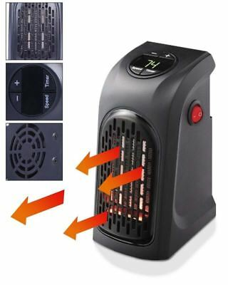 350w Household Mini Portable Air Heater Blower Office Plug-in Electric Heater