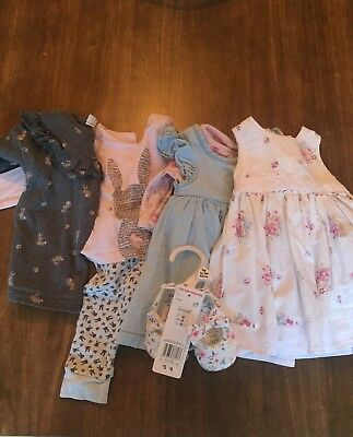 Baby Girl Clothes Bundle 0-3 Months. Next, Mothercare