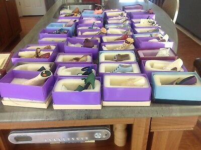 """Large Lot-Entire Collection of Just The Right Shoe incl QVC """"VICTORIA"""" Promanade"""