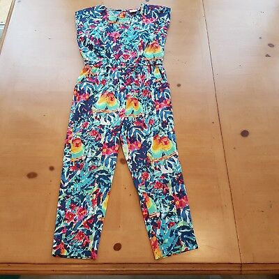 Debenhams Girl's Summer Jumpsuit Size 5 - 6 Years