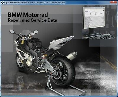 2014-2015-2016 BMW S1000R ( K47 ) Motorcycle RepROM Service Manual DVD  S 1000 R
