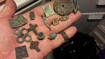 Handful Of Detecting Found Items
