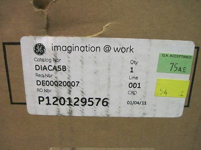 GE GENERAL ELECTRIC DIACA5B DIGITAL OVERCURRENT PROTECTION 5A RELAY Multilin