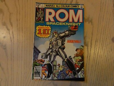 Rom Spaceknight Issue 1 from 1979 in great condition