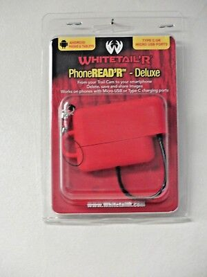 Whitetail'r Phone SD Card Reader for Android SD MicroSD USB