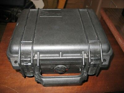 Pelican 1200 Case Black Good Condition with some foam