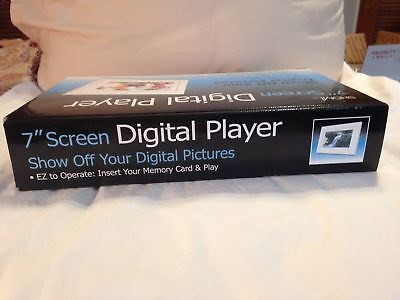 SHOMI 7-INCH Digital Picture Frame Screen Player Free Standing or ...