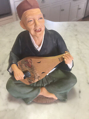 Norcrest Chinese Porcelain Man