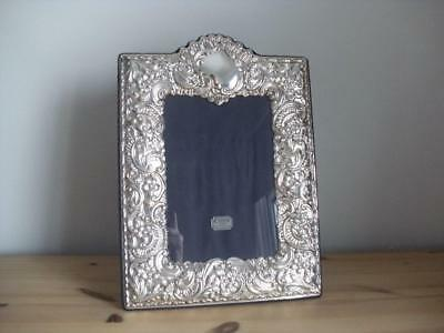 LARGE STERLING SILVER HALLMARKED PHOTO FRAME Sheffield 2000