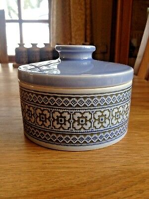 Hornsea *TAPESTRY* Circular Butter Dish - John Clappison - 1970s - *EXCELLENT*