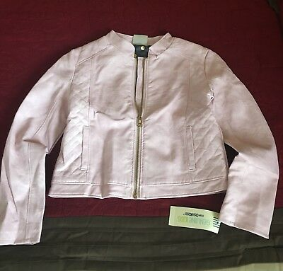 Genuine Kids from OshKosh Pink Moto Jacket, M (7/8), NWT