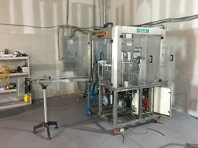 Plastic Glass Filling and Sealing Machine - for juice or other cold drinks