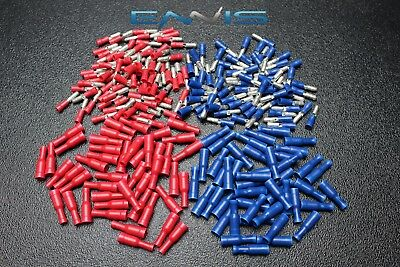 400 PK 14-16 18-22 GAUGE NYLON BULLET CONNECTOR MALE FEMALE ROUND MADE IN USA