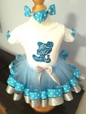 Cinderella inspired tutu, can be personalised