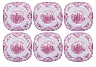 johnson brother old britain castles small square plates x12  sc 1 st  PicClick UK & JOHNSON BROTHER OLD britain castles small square plates x12 - £52.00 ...