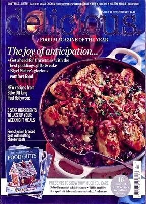 Delicious Magazine Issue November 2017 ~ New ~