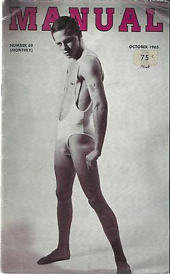 Manual May 1965 Number 69 / Gay, Vintage, Physique, Beefcake / Damaged