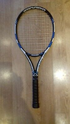 Tennis racket mens Babolat Pure Drive good condition with limited use.