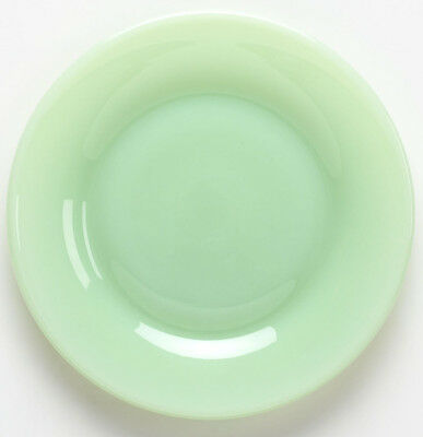 Plate Bread / Fruit Saucer - Jade Jadite Jadite Green Glass - Mosser USA - Small