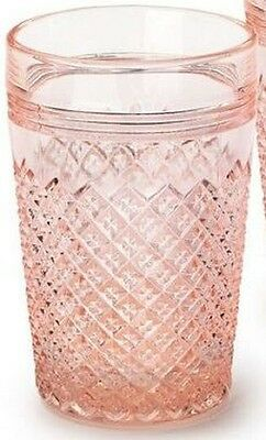 Tumbler - Addison - Rose Pink Glass - Mosser USA