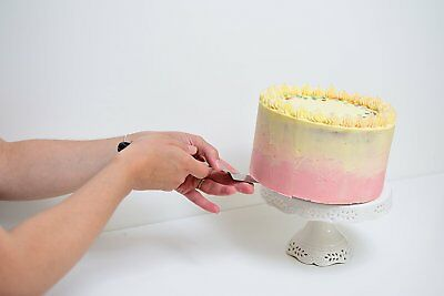 Tala Cake Icing Spatula Palette Knife Spreader Stainless Steel Large Angled/Flat