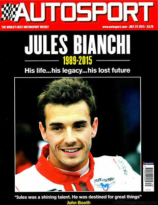 AUTOSPORT MAGAZINE JULY 23rd 2015 ~ NEW ~ DISCOUNTS ON MULTIPLE ISSUES ~