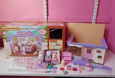 Sylvanian Families Boutique rare gift Set Toy shop store