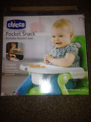 OpenBox Chicco Pocket Snack Portable Booster Seat, Green