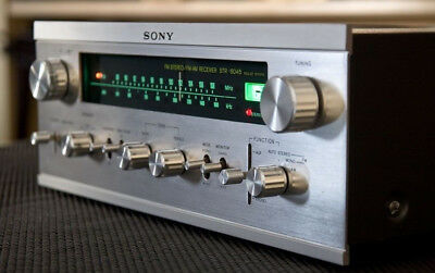 Sony STR-6045 Solid State Vintage Stereo Receiver High End HiFi