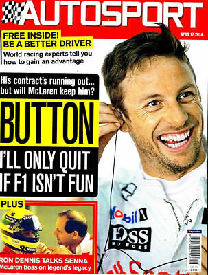 AUTOSPORT MAGAZINE APRIL 17th 2014 ~ NEW ~ DISCOUNTS ON MULTIPLE ISSUES ~