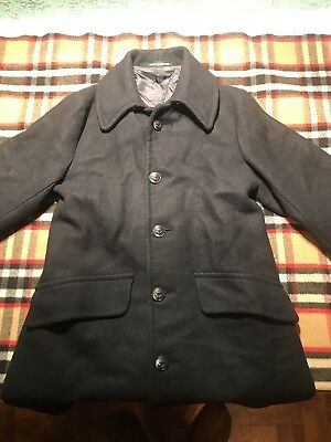 VTG Brooks Brothers Brooksgate Coat 100% Wool MINTY Made In England