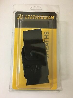 "Leatherman  4"" Leather Sheath / Pouch for Wave, Charge, Skeletool, Fuse..."