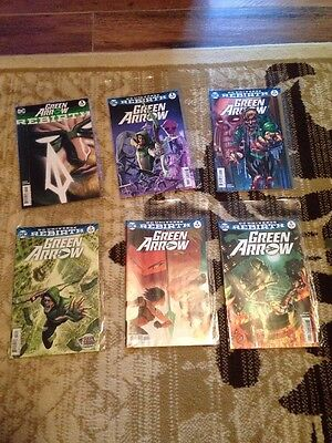 Set of Green Arrow: Rebirth Comics (Volume 1)