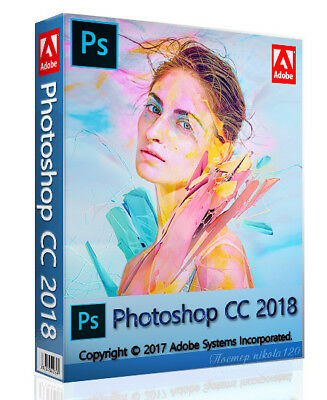 Adobe Photoshop CC 2018 Full Version (x64) Instant Delivery. Lifetime Licence