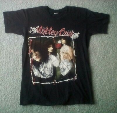 Vintage 1989 Motley Crue Dr Feelgood T-shirt sz M/L Excellent Cond Free Shipping